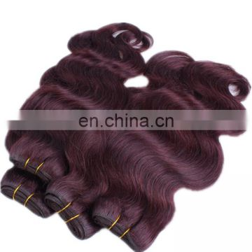 Top quality 99J# body wave human hair extension