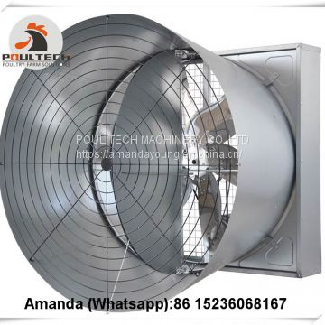 Saudi Arabia Selling Poultry Farming Equipment Exhaust Fan & Ventilation System & Air Cooler/Air Heater in Poultry & Livestock Farm