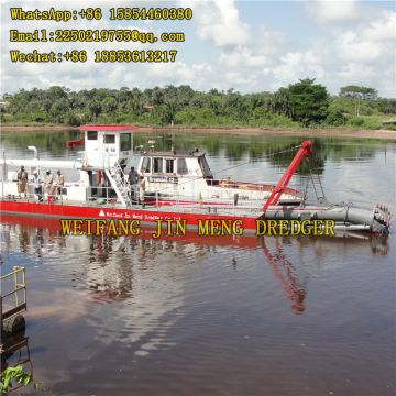 Long Discharge Distance Vacuum Dredging Equipment Sand Production