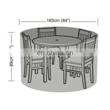 Garden Round Table 6 Seater Furniture Set Cover