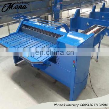 egg weighing equipment poultry farm egg grader machine cheap price 2 rows 5 grades egg grader