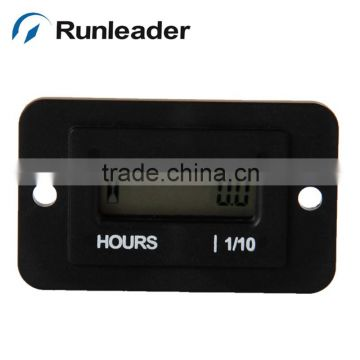 Digital LCD Hour Meter Counter Used For ATV Snowmobile Boat Generator Farm Machinery 12V 24V 110V 250V