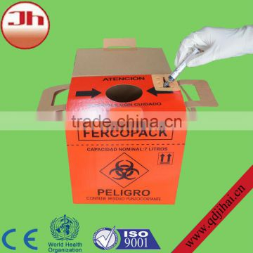 sharps disposal container,bio medical waste bins,medical sharps bin