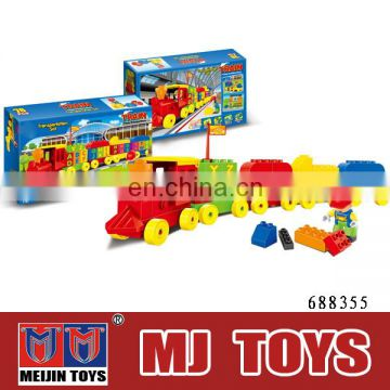 zoo animals plastic toy big building block Intelligence Toys Educational Tool Building Block