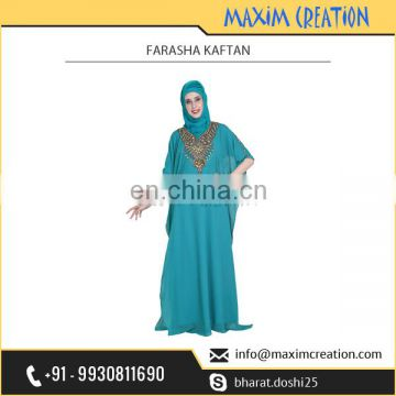 Best Selling Farasha Kaftan Available in Multiple Bright Colours