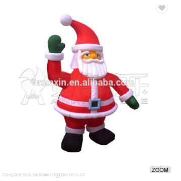 Christmas Santa Claus Cartoon Customized Outdoor Giant Inflatable Advertisement
