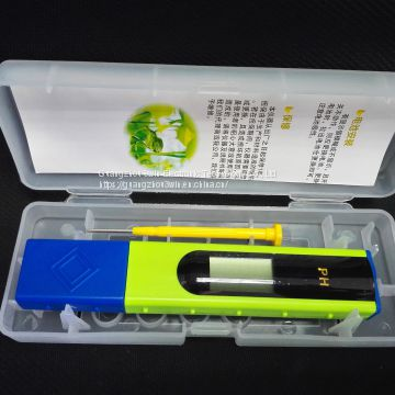 Hot sale pocket big screen PH meter pen type PH soil PH tester