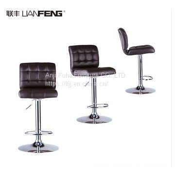 2018 lianfeng new style bar chair bar stool with footrest