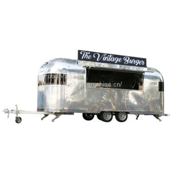 iTrailer aluminum food van for vending burger