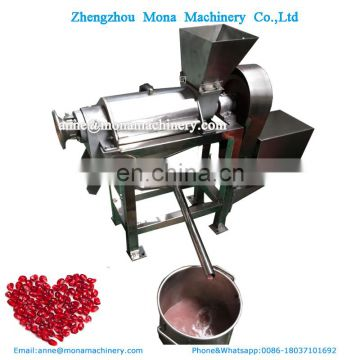 Hot selling factory price stainless steel fruit and vegetable juicer machine berry juice extractor