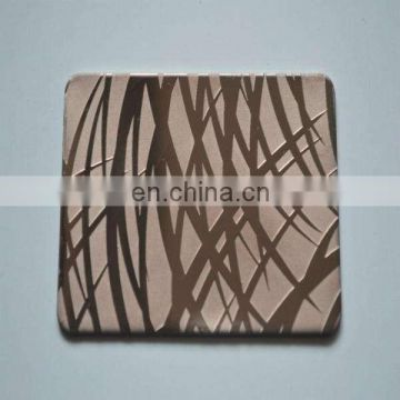 AISI 430 Colored Stainless Steel Sheet for Steel Almiral
