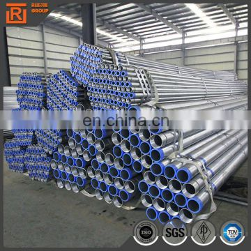 Q195-Q235 pre galvanized steel pipe wall thickness