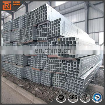 Square steel tube price per kg, pre galvanized square steel pipe, galvanised rectangular hollow steel tube