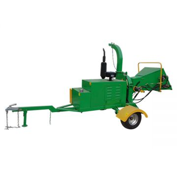 Wood Chipper Machine WC-40 Industrial Electric Heavy Duty Large Mobile Wood Chipper Machine For Sale