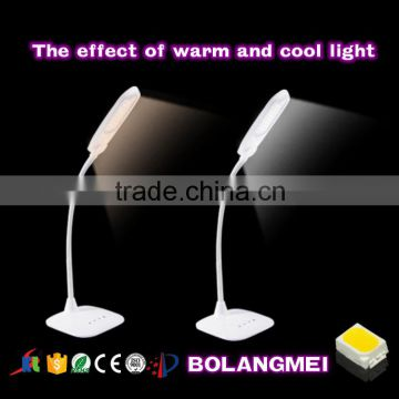 Double color temperature Office LED table/desk lamp with battery                                                                         Quality Choice