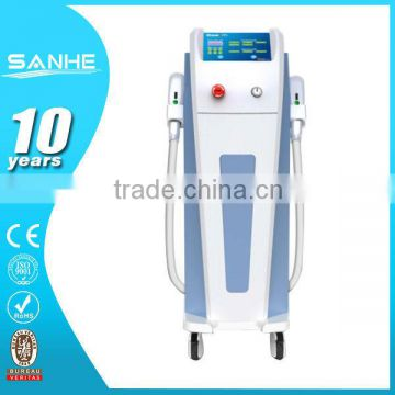 2015 best shr hair removal laser device beauty machine/elight shr hair remvoal/elight shr rf cbeauty machine