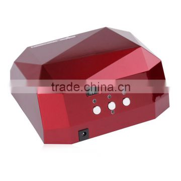36W LED CCFL Nail Dryer Diamond Shape Curing Machine For UV Gel UV Lamp Nail Polish led lamp for nail                                                                         Quality Choice                                                     Most Popular