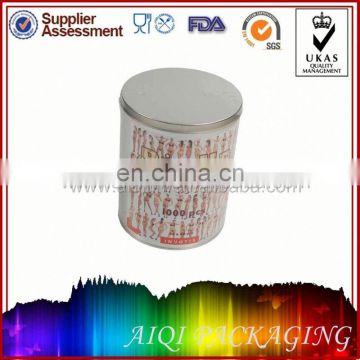 2014 newest hot selling small tin box with clik clak lid