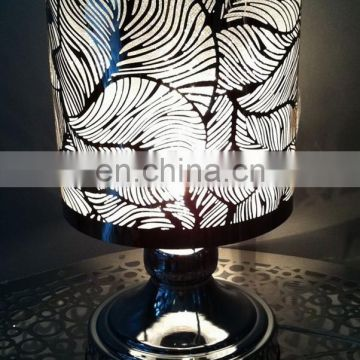 OEM metal stainless steel table lampshade dust cover