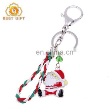 Cheap Christmas Decoration Metal Key Ring