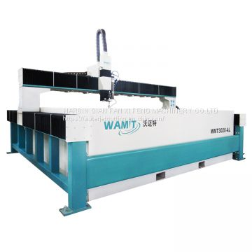 2*3m 420mpa high pressure water jet cutting machine for glass,marble,steel,aluminum,foam,rubber,plastic,wood with CE