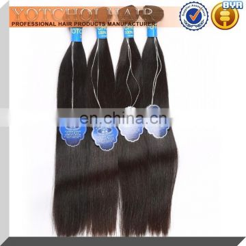 Most Popular Hot Selling 8A 7A 6A 5A Grade Remy Full Cuticle Double Drawn Natural Color Virgin Brazilian Hair Weave