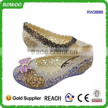latest design cheap african pvc injection plastic women shoes