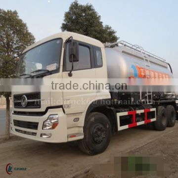 245hp DONGFENG 6*4 Dry Mortar Transport Truck 20 m3