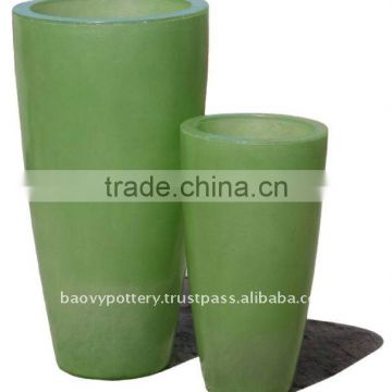 AAQ Fiberglass lighting pot, fiberglass with light