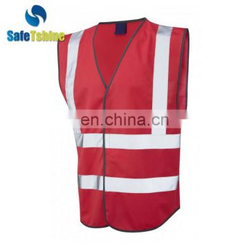 Most competitive customized 100% polyester wholesale safety vest