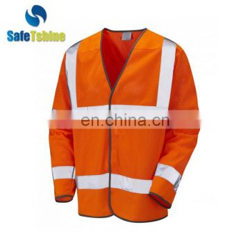 Professional manufacturer supplier long sleeve work vest
