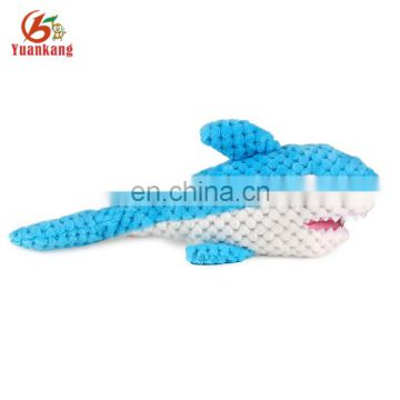 YK Factory Best Made Toys High Quality Cute Soft Plush Stuffed Shark Sea Animal Toy