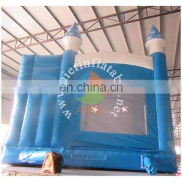 2017 new style china guangzhou inflatable castle with slide and pool