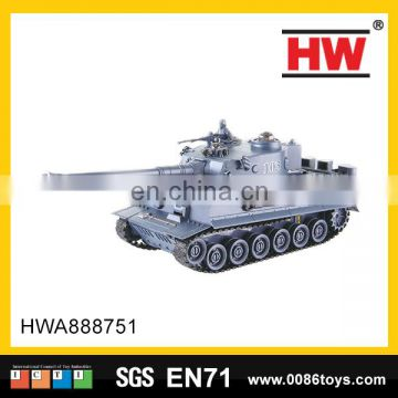 New design 7 channel infra-red remote control toys the rc plastic tank with sound & light