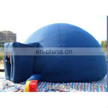 inflatable film tent