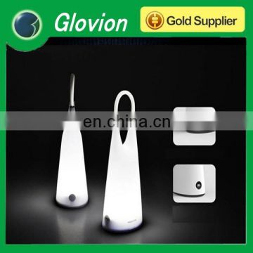 Glovion portable hang handed LED lamp with soft silicone handle
