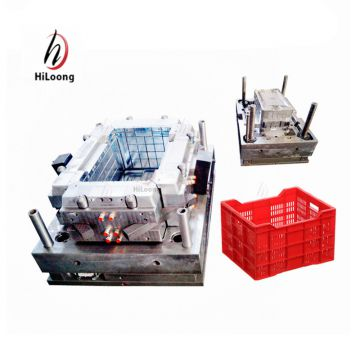 custom design plastic product crate plastic molds