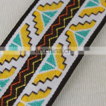 Italy design beautiful jacquard ribbon wholesale for garment