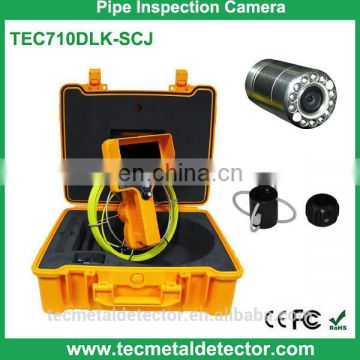 2015 New Hand Hold Monitoring Pipe Inspection Camera with 512Hz Transmitter TEC710DLK-SCJ