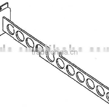 Metal Chrome Plated pegboard clothes Gridwall Hook