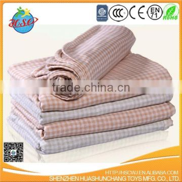 100% cotton comfortable baby blanket