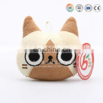 Factory direct wholesale mini cute owl plush soft toy keychain