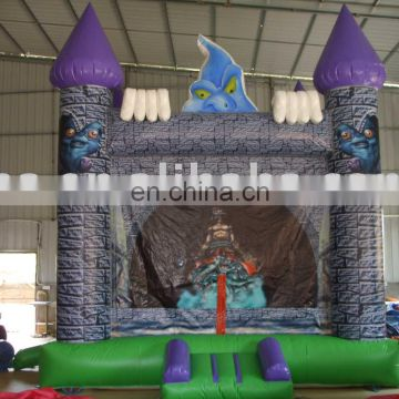 Inflatable Haunted Castle, Jumping House, Bouncy Castle, Party Jumpers