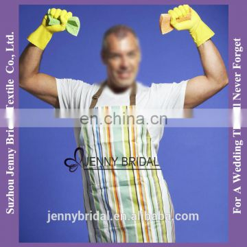 APR33 polyester apron cotton materials with pockets for tool apron
