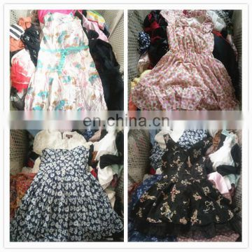 used wedding dress for girls used clothing in China bales of mixed used dress
