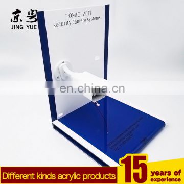 Acrylic material surveillance camera display stand