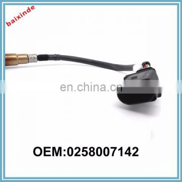 BAIXINDE Oxygen Sensor 0258007142 for BMWs e46 x3 8 (e83) z4 (e85) rule Probe before Cat