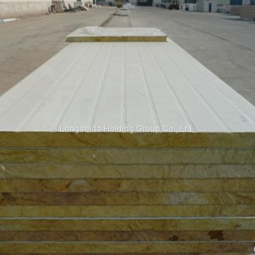 High Quality and Strength Rock Woolen Sandwich Panel for Roof Sandwich Panel for Wall