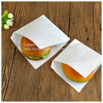 Custom printed food packaging greaseproof triangle bag Manufacturer  in China