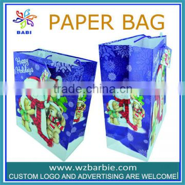2014 fashion trend foldable shopping bags for promotion